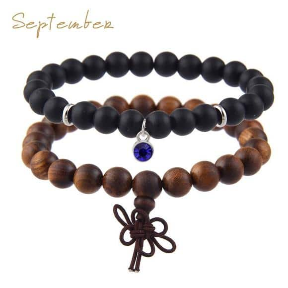 September Birthstones Bracelet Set