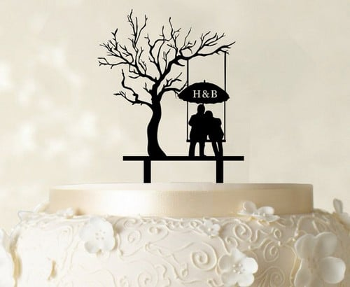 37 Funny and Unique Wedding Cake Toppers - Ring to Perfection