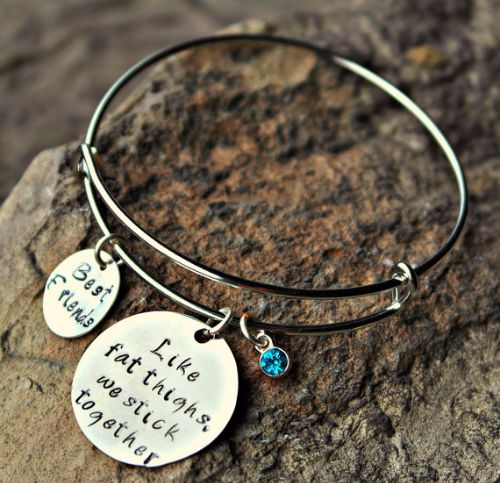 Silver Best Friend Bracelets