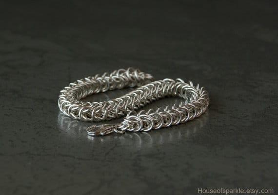 Silver Bracelets For Men Flipkart