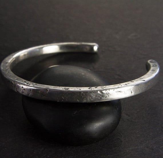 Silver Bracelets For Men In Grt