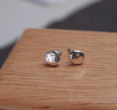 Silver Mens Earrings