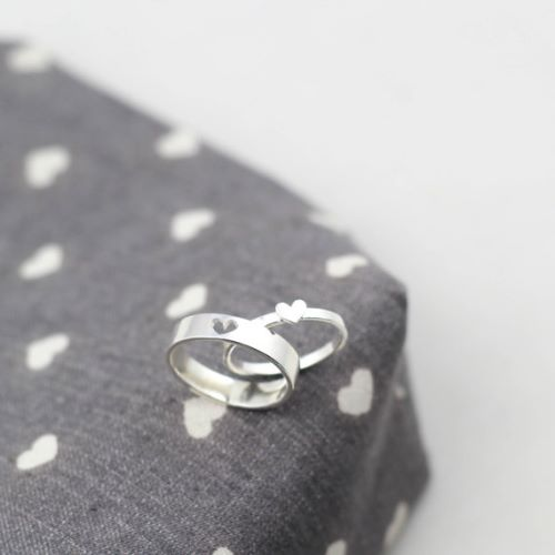 Silver Promise Rings For Her