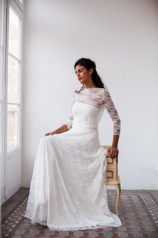 Simple Boho Wedding Dresses