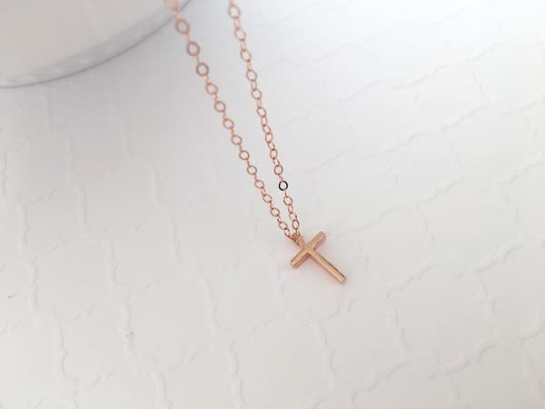 Simple Cross Necklaces