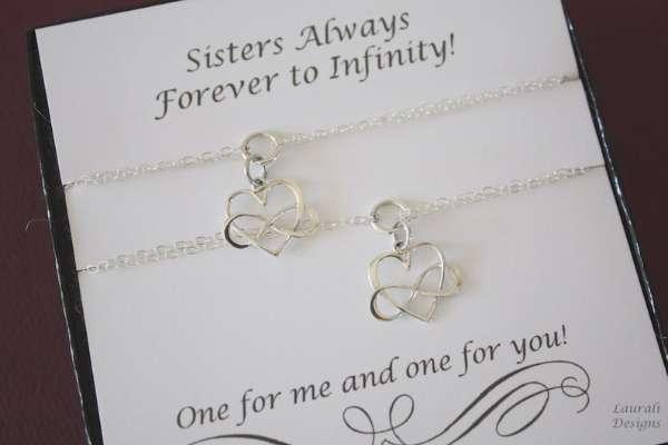 Sister Infinity Bracelets