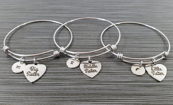 Sister Charm Bracelets
