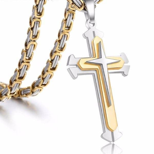 Small Cross Necklaces