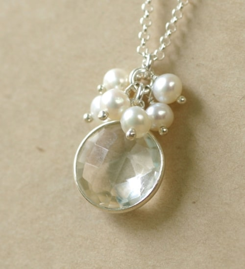 Small Single Pearl Necklace