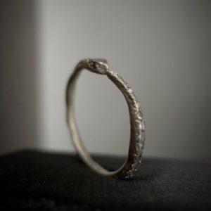 Snake Eternity Ring