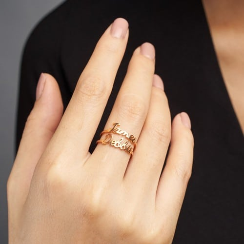 Stackable Mother Ring