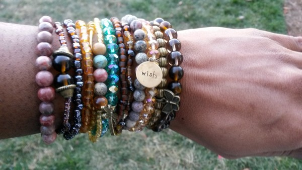 Stacked Bracelets Pinterest
