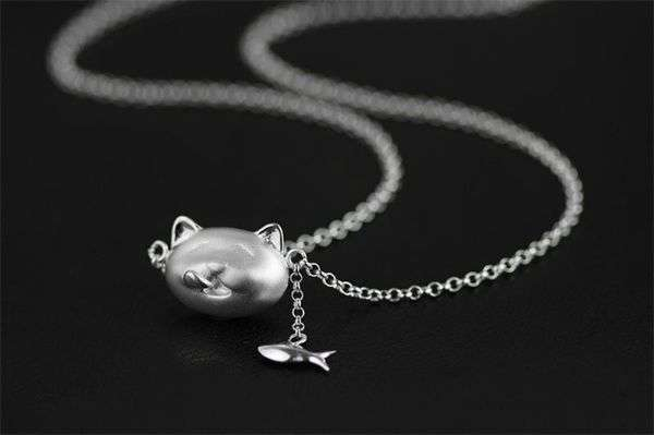 Sterling Silver Necklace Etsy