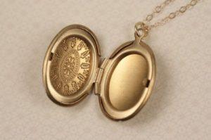 Tiffany Locket Necklace