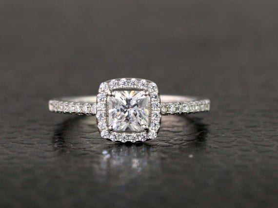 Timeless Princess Cut Engagement Ring