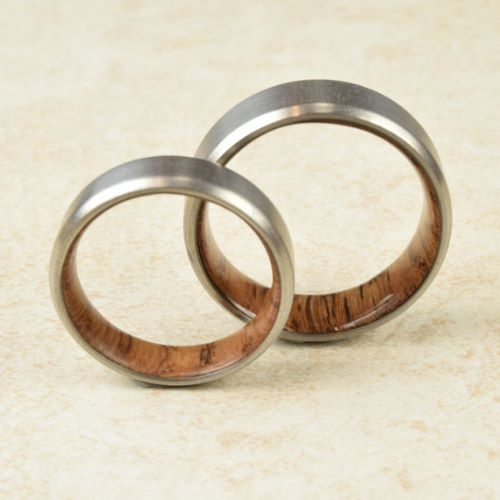 Titanium Couple Rings