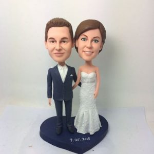 Traditional Bride and Groom Figurine