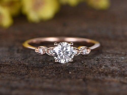 Unique 7Mm Tungsten Mens Ring
