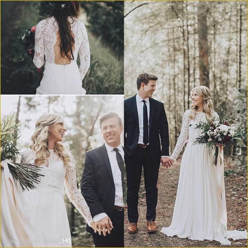 Boho Wedding Dress Cheap Beautiful Discount Country Style Cheap Bohemian Summer