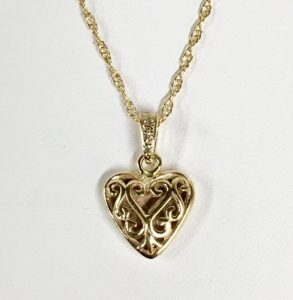 Unique Heart Necklaces