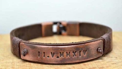 Unique Mens Leather Bracelets