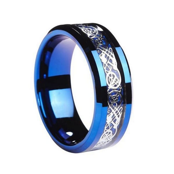 Charmant Unique Mens Wedding Bands Tungsten