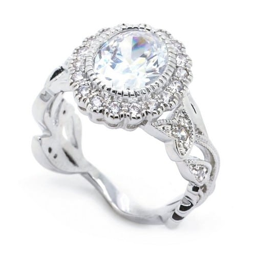 Unique Vintage Engagement Ring