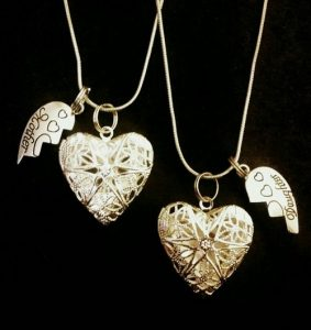 Unusual Heart Necklaces