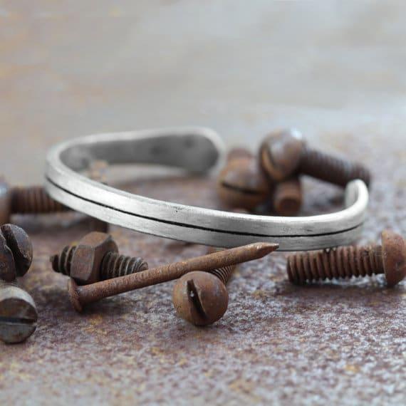 Unusual Silver Bracelets For Men