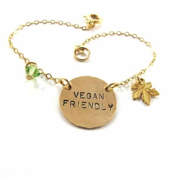 Vegan Charm Bracelet