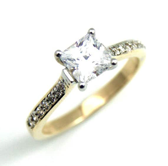 Verragio Princess Cut Diamond Engagement Ring