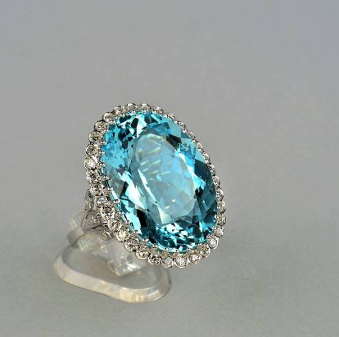 finger halo diamond aquamarine rings engagement oval aqua products ring on stone