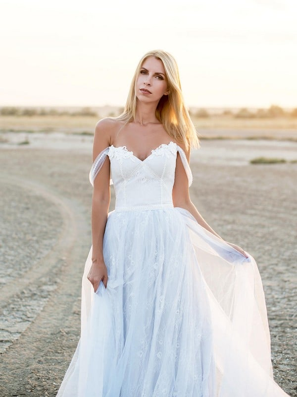 41 Best Boho Wedding Dresses [2018] - Ring to Perfection