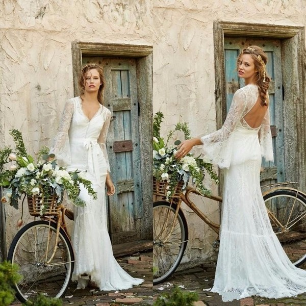 Vintage Bohemian Wedding Dresses