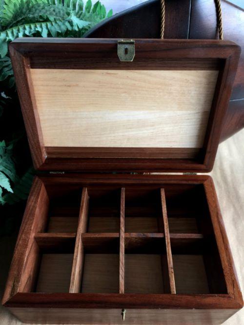 Vintage Mens Jewelry Box