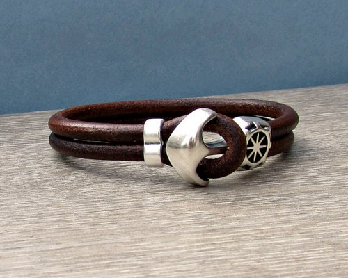 Vintage Mens Leather Bracelets