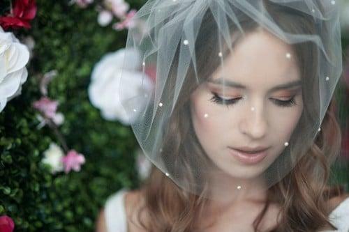 Wedding Birdcage Veil
