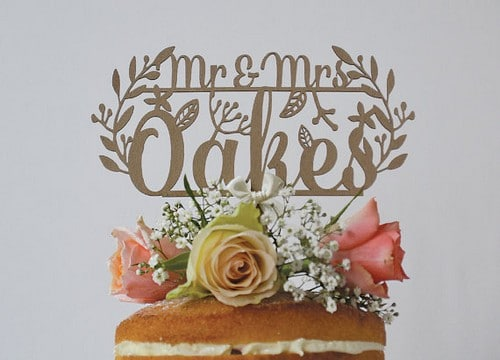 Wedding Cake Cake Toppers