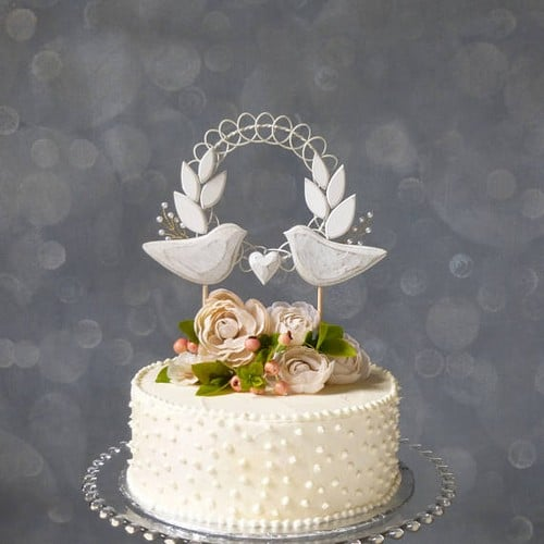 Wedding Cake Toppers Letter