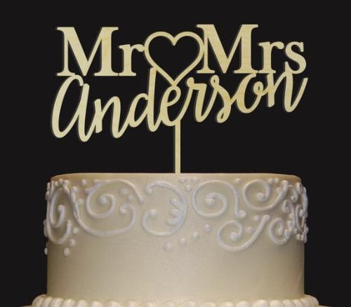 Wedding Cake Toppers Unusual
