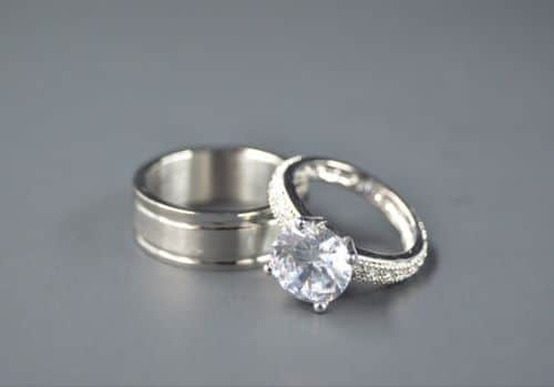 Wedding Diamond Ring Sets