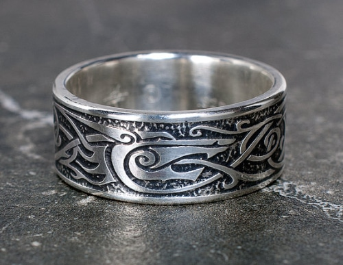 wedding ring designs for men - Norse Wedding Rings
