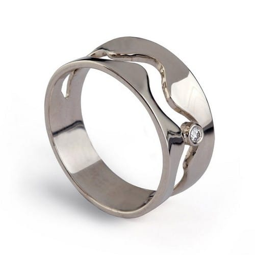 Wedding Rings Halo