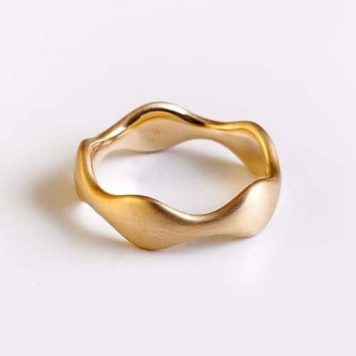 Wedding Rings Rose Gold
