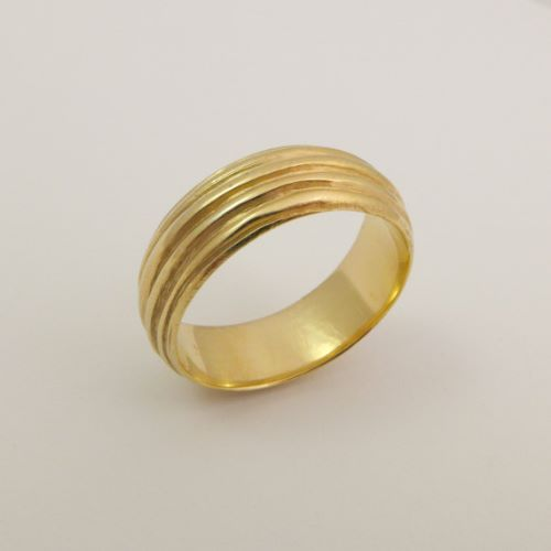 Wedding Rings Two Tone