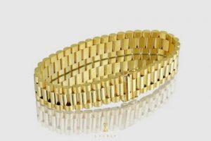 White Gold Bracelets For Men