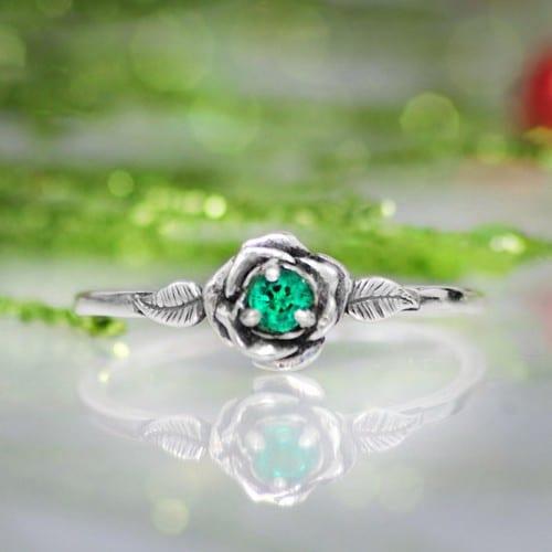 Wood Engagement Ring