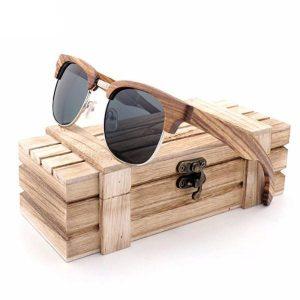 Wood Frame Sunglasses