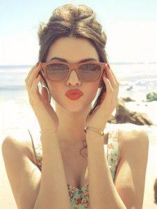 Wood Ray Ban Sunglasses