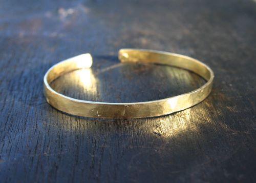 Yellow Gold Bracelets For Men